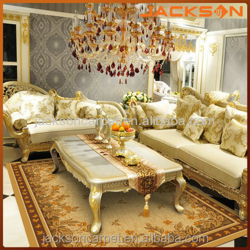 luxury pattern carpet and modern carpet rug for hotel room