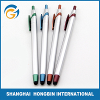 Promotion Plastic Push Roller Ball Pen