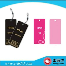 Custom Smart UHF RFID Paper Hang Tags for Clothing Management