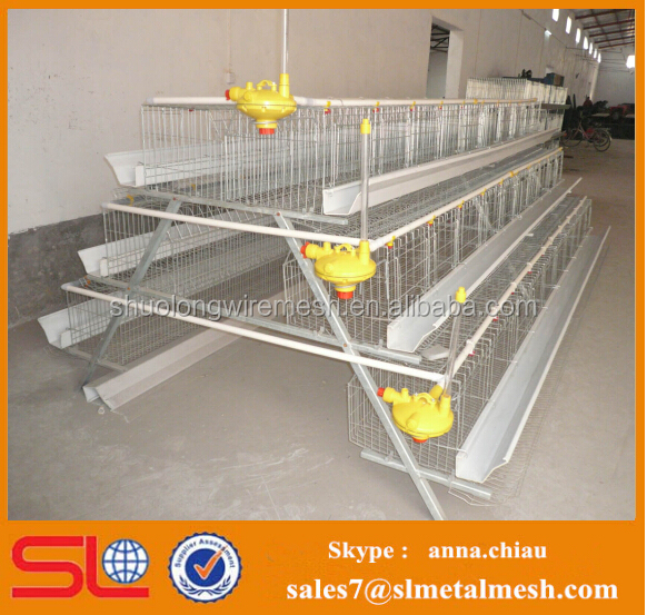 chicken poultry farm equipment / layer poultry cages for nigeria/africa