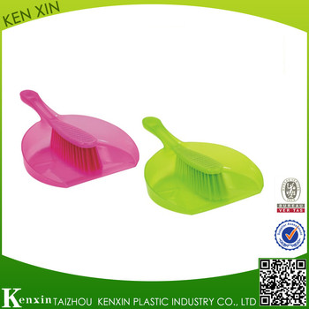 Plastici Dust pan and Broom Set cleaning brush KX-507