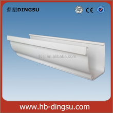 2016 hot sales!!! 5 inch PVC roof gutter and pipes square,5K rain collector