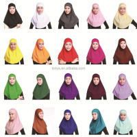 Wholesale Women Plain Dubai Arab Shawl islamic prayer rug hijab