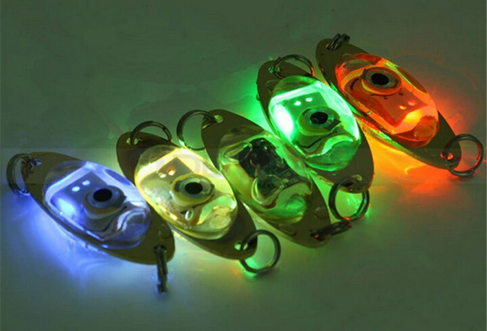 6cm Flash Lamp Electronic Underwater Eye Shape Fishing Lure Light