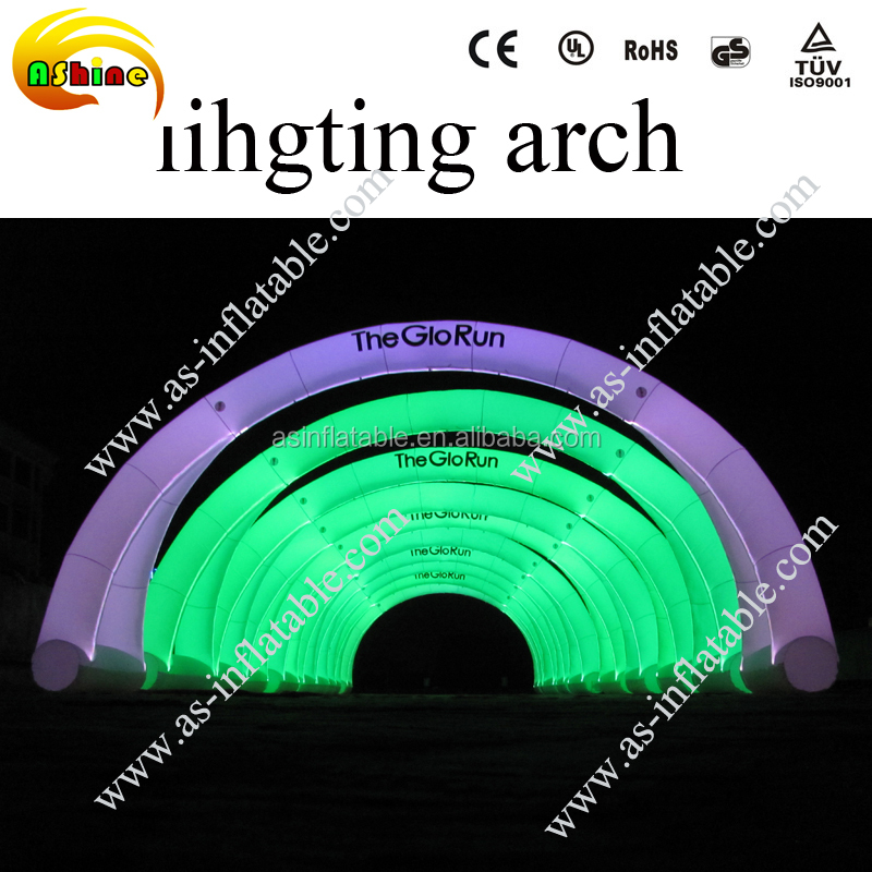 cheap inflatable advertising arch for event