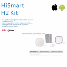 Hot selling HA1.2 Zigbee hub and sensors for smart home and house use