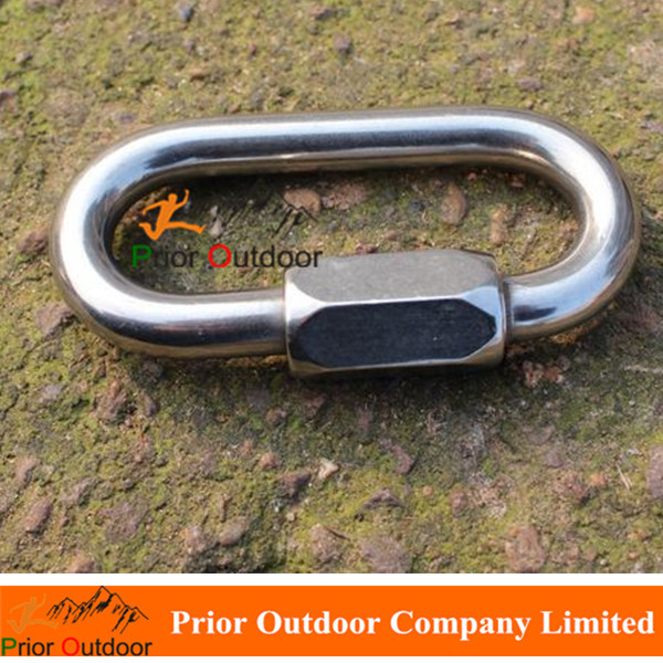 MAILLON Lock Stainless Steel 316 Carabiner O Type OVAL QUICK LINKS <strong>10mm</strong>