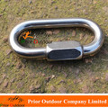 MAILLON Lock Stainless Steel 316 Carabiner O Type OVAL QUICK LINKS 10mm