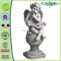 20 inch Wholesale Outdoor Decoration Resin Angel Figure Design