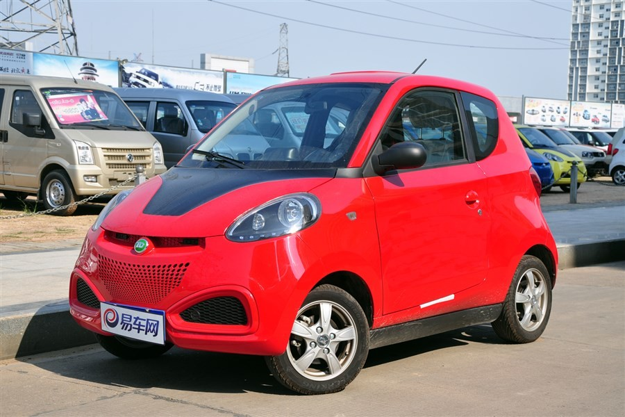 China eec l7e 80 electric car with 2 seater