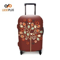 "Luckiplus Exclusive Designed Luggage Cover Flexible Trolley Case Cover Fits in 18""-32"" For Luggage Decoration Protection"