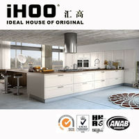 Ultra Thick Germany PVC Laminate Kitchen Cabinet