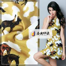 China factory economic and reliable fancy garment digital printed polyester chiffon fabric