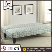 Wholesale modern sectional fabric storage sofa bed design
