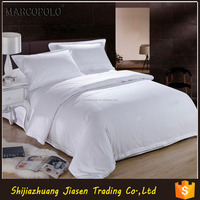 100% cotton satin fabric bed sheets for hotel bedding home OEM size available