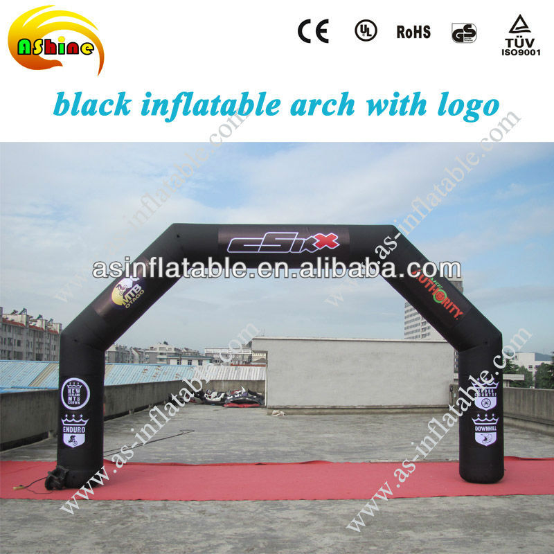cheap inflatable arch for advertising halloween arch