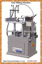 Small surface end milling machine for aluminum and pvc windows