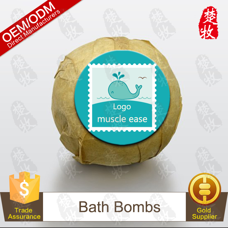 Have a Comfortable Bathtime,Music Ease Bath Bomb Soothing and Relaxing OEM/ODM Professional Supplier
