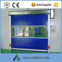 crystal commercial overhead shutter door / transparent roller sectional door
