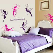 Decorative 3d fairy wall stickers wholesale