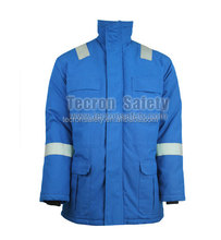 Insulated FR flame retardant fie resistant Cotton winter Parka FR Jacket