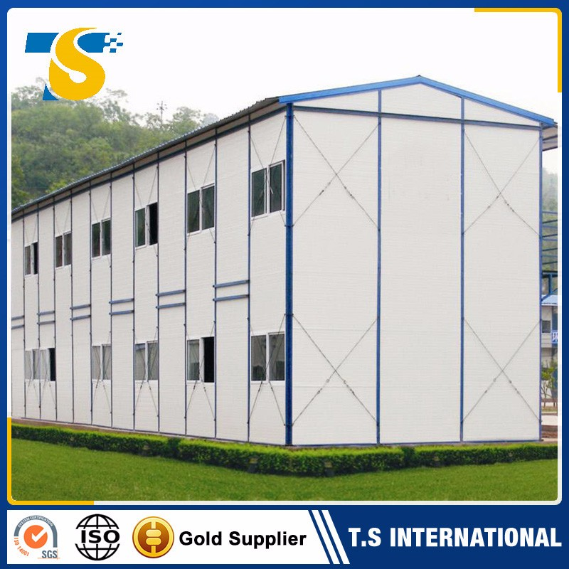 China supplier fast built high quality beautiful flat-pack prefabricated glass house