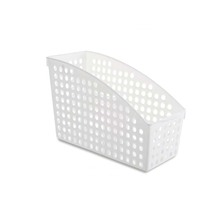 oem pp white office container,plastic storage boxes