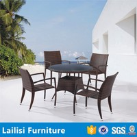 Classic italian royal dining room furniture sets outdoor rattan leisure chair