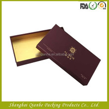 lid and base separated style branded paper gift box
