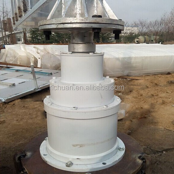 2KW vertical axis wind turbine (permanent magnet alternator micro hydro turbin high efficency renewable energy low cost)