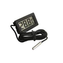 High accuracy digital thermometer indoor outdoor with metal probe