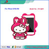 Hot Sale 3D Hello Kitty Design Silicon Case for iPhone 5/5S