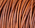 Plain Round Leather Cord From BORG EXPORT