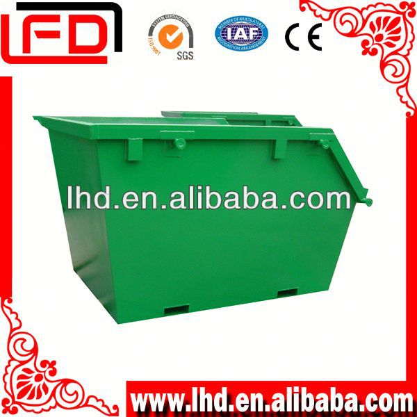 large metal waste containers for waste oil