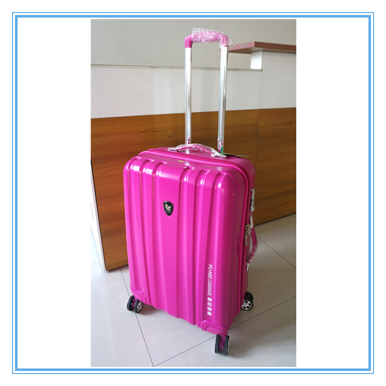 PC ABS Trolley Luggage Travel Bag Spinner Set
