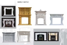 Marble Fireplace Mantle, Travertine Mantle