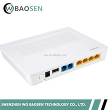HUAWEI HG8346M GPON ONU 4 lan ports and 2 voice WIFI with Port English Setup Firmware and FTTH Fiber Optical Termianl ONT