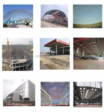 airport terminal prefabricated steel structure building with ISO9001 Certification