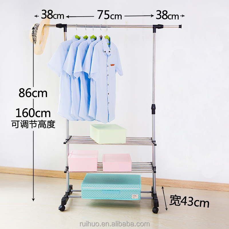 Latest New product utility 3 tier clothes drying rack