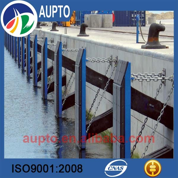 plastic sheets using uhmw pe material marine frontal frame fender with excellent properties