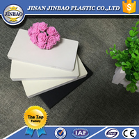 White board high density closed cell foam pvc
