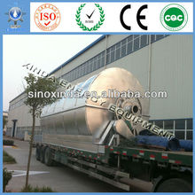2012 The fifth generation Used Plastic/Rubber/Tires pyrolysis equipment
