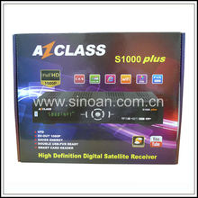 Satellite Receiver Azclass S1000 IKS for South America
