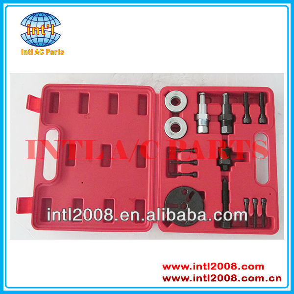 AC COMPRESSOR CLUTCH HUB INSTALLER REMOVER/Removal KIT PULLER PLATES TOOLS