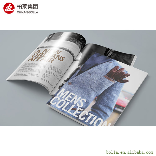 2017 Printing Cheap Booklet/Brochure, High Quality Magazine/Catalog Printing