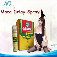 new products 2016 100% natural herbal maca sex delay spray for man / male sex enhancement spray