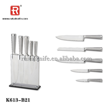 Top quality bottom price K613-B21home kitchen knife color box / gift box