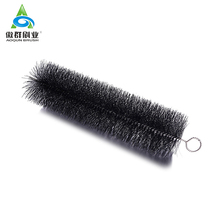 Eco-friendly nylon wire gutter eave brushes,gutter brush rain gutter guard