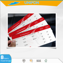 Airline boarding pass,paper airline ticket printing