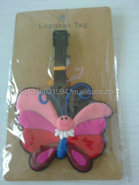 Luggage Tag - Happy Butterfly